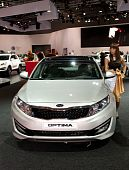Kia Optima - russian premiere