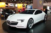 Opel Flextreme GT/E concept car