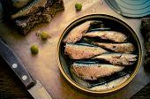 Постер, плакат: Tin Can Of Sprats Sardines