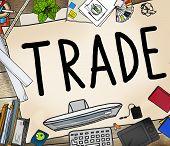 pic of bartering  - Trade Commerce Exchange Negotiation Economic Concept - JPG
