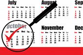 October Plan