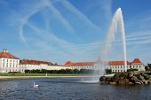 Fountain At Nymphenburg Castle