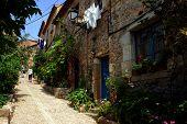 Rustic Spanish Street
