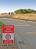 Building Site - Access Road