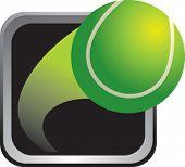 marco de plata del tenis