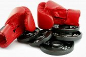Gloves And Weights