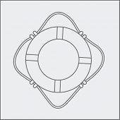 life ring sketch