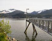 Peer In Skagway Alaska