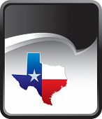 texas icon on background with rip curl