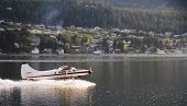 Plane Taking Off   In Skagway Alaska