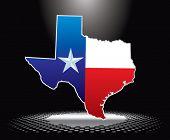 texas icon under spotlight