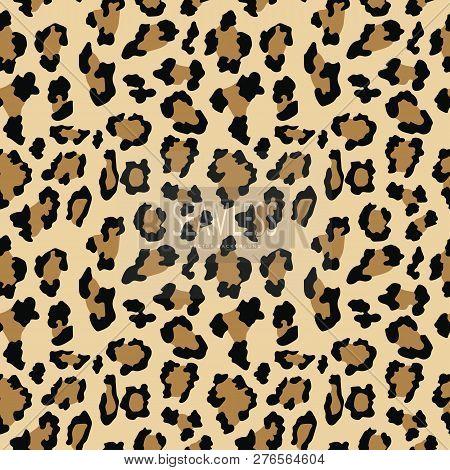 Leopard Seamless Pattern Animal Print