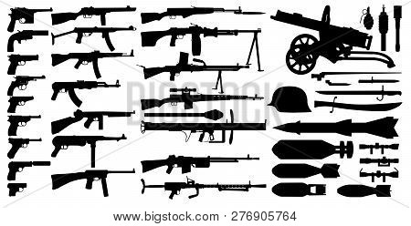 Firearms Arsenal Military Weapons Collection