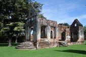 Ruins Of Hao Phraya Vichayen, Lop Buri, Thailand