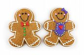 Gingerbread Couple