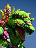 Dragon Lizard Carnival Float