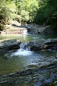 Small Waterfalls In Granite Coast