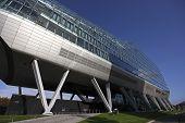 hochmoderne Architektur in Amsterdam Niederlande