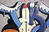 Graffiti in Lisbon Portugal
