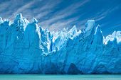 Glaciar Perito Moreno, Patagônia, Argentina.