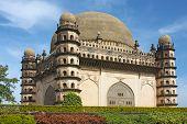 Golgumbaz, A Mughal Mausoleum In Bijapur , Karnataka, India
