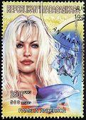 Pamela Anderson Stamp