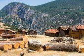 Adobe Barns Of Turkey