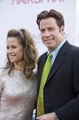 John Travolta And Kelley Preston