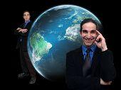 Businessman And World-5