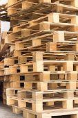 Stock Wood Pallet