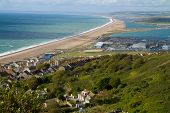 Chesil beach Dorset