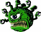 Monstro do beholder isolado