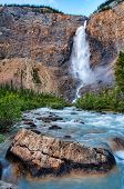 Takakkaw Falls In Yoho Park British Columbia