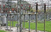 Isolators And Switches To An Energy Substation