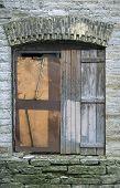 Old Closed Window
