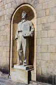 Socialist realism statue