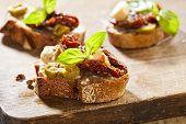 Italian Appetizer Bruschetta