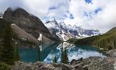 stock photo of tens  - Moraine Lake - JPG