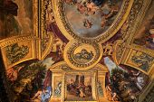 Versailles castle , France, interiors and details