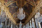 Galerie des glaces, Chateau de Versailles, France
