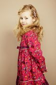image of little girls photo-models  - Portrait of pretty little girl - JPG