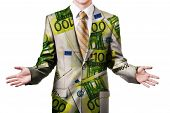 Businessman In Euro Suit