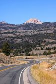foto of beartooth  - Route 212 Beartooth high way - JPG