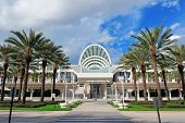 ORLANDO, FL - FEB 6: The Orange County Convention Center on International Drive on February 6, 2012