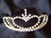 Tiara On Black