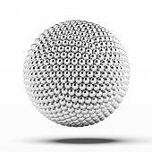 ball of metal spheres