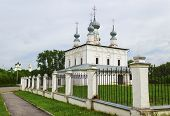 Peter And Pavel Church, Monument Of Architecture Of End Of The 17 Th Century, In  Suzdal