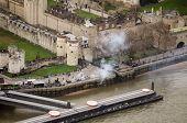 Gun salute, Tower of London