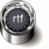 Rubber-button-round-document-file-type-rtf