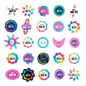 Biggest Series Of Vector Icons Wi Fi